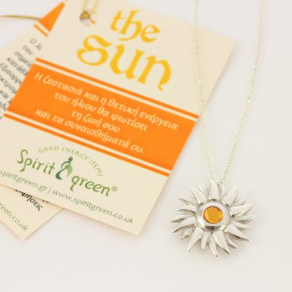 Sun Silver pendant - Big