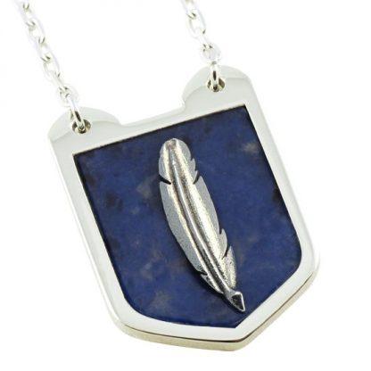 Creative Spirit Shield with Sodalite