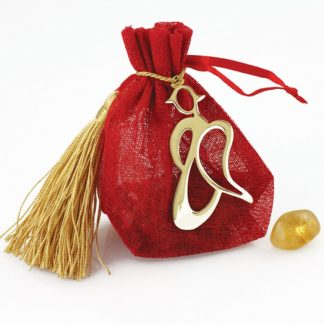 Angel Pouch with Citrine