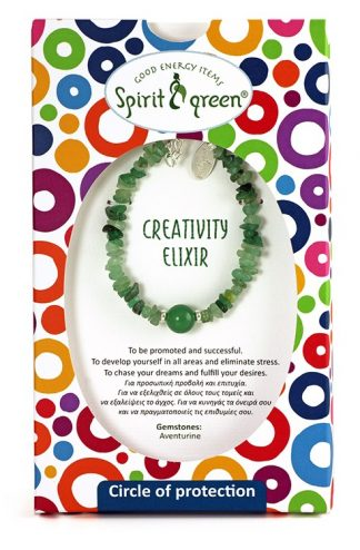 Creativity Elixir Bracelet with Aventurine