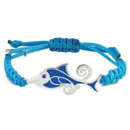 THE DOLPHIN - SILVER PROTECTION BRACELET