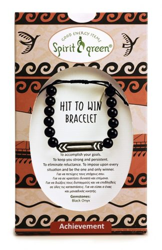 Hit to Win Bracelet with Black Onyx