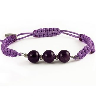 The power of 3 - New Start Bracelet with Amethyst